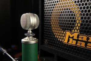 Kondensatormikrofon als Studio Mikrofon