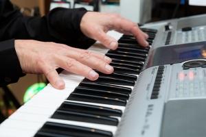Polyphonie bei einem Keyboard